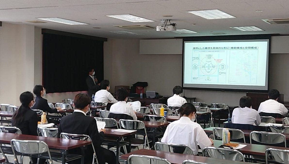 茨城大学との連携講座「ゼロから始めるまちづくり・建設技術」について