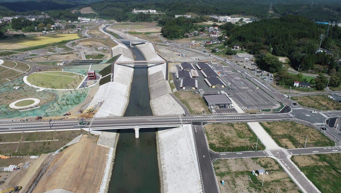 南三陸町志津川地区震災復興事業についてUAVを用いた記録映像を作成しました。
