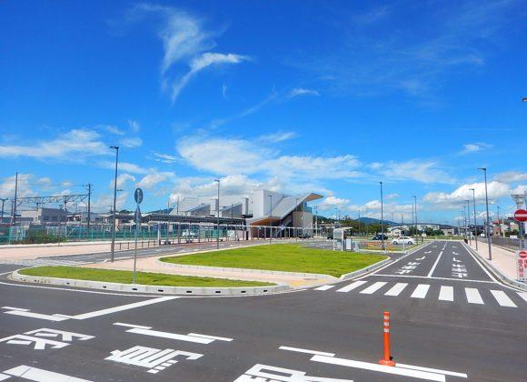 小美玉市「羽鳥駅東西駅前広場」の整備が完了しました。